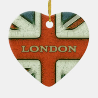 Bandera de Londres Reino Unido Adorno