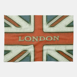 Bandera de Londres Reino Unido Toalla