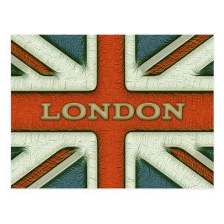Bandera de Londres Reino Unido Postales