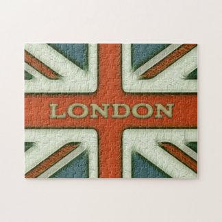 Bandera de Londres Reino Unido Puzzle