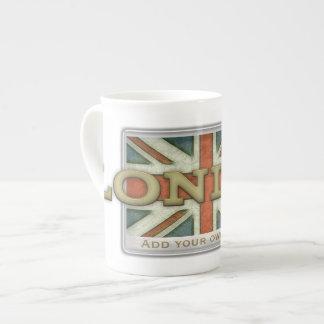 Bandera de Londres Reino Unido Taza De China