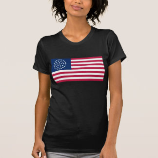 Bandera de los 36 de la estrella de carro E E U U Camiseta