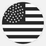 Bandera de los 51 E.E.U.U. de la estrella Pegatina Redonda