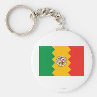 Bandera de Los Ángeles Llavero Personalizado
