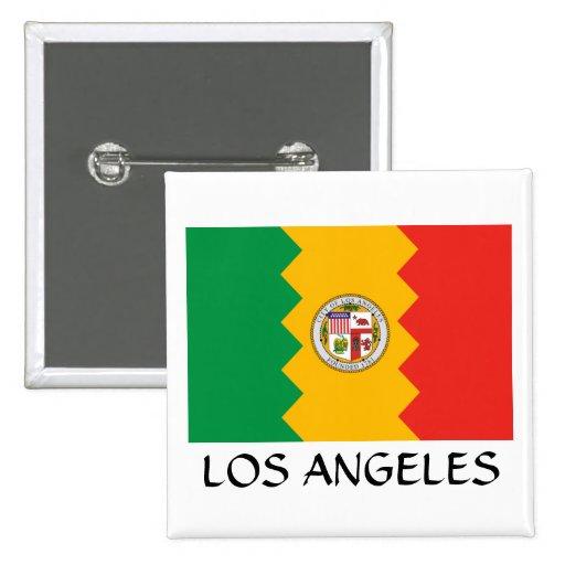 Bandera de Los Ángeles Pins