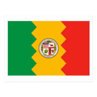 Bandera de Los Ángeles Postal