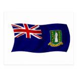 Bandera de los British Virgin Islands Postales