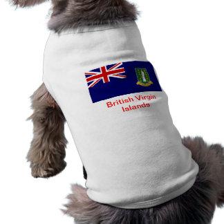 Bandera de los British Virgin Islands Camiseta De Perrito