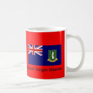 Bandera de los British Virgin Islands Taza