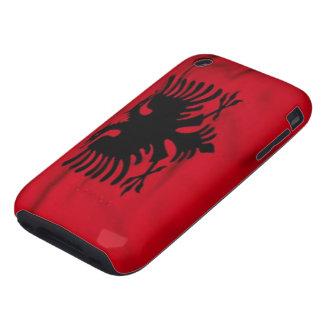 Bandera de los casos del iPhone 3G/3GS de Albania Funda Though Para iPhone 3