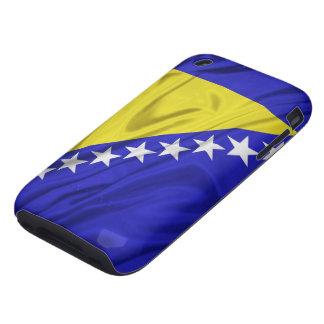 Bandera de los casos del iPhone 3G 3GS de Bosnia y iPhone 3 Tough Protectores