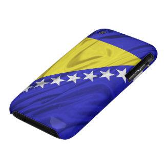 Bandera de los casos del iPhone 3G 3GS de Bosnia y Case-Mate iPhone 3 Protector