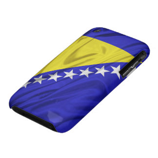 Bandera de los casos del iPhone 3G/3GS de Bosnia y Case-Mate iPhone 3 Protector