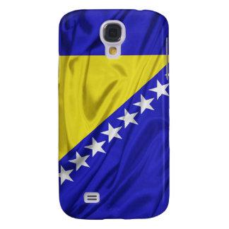 Bandera de los casos del iPhone 3G/3GS de Bosnia y Funda Para Galaxy S4