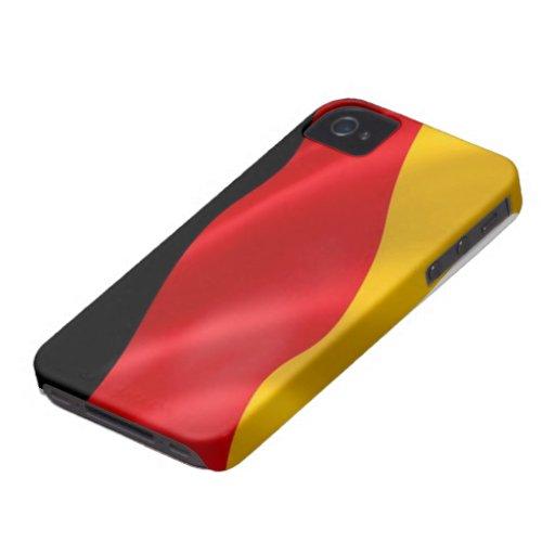 Bandera de los casos del iPhone 4/4S de Alemania iPhone 4 Carcasa