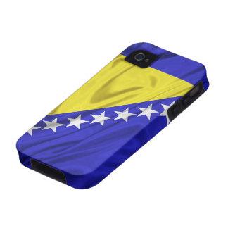 Bandera de los casos del iPhone 4 4S de Bosnia y H