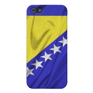 Bandera de los casos del iPhone 4/4S de Bosnia y H iPhone 5 Cobertura