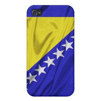 Bandera de los casos del iPhone 4/4S de Bosnia y H iPhone 4 Carcasa