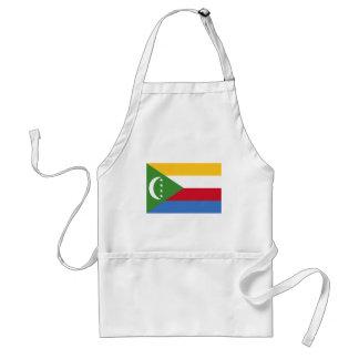 Bandera de los Comoro Delantales