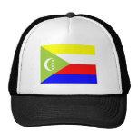 Bandera de los Comoro Gorras De Camionero