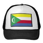 Bandera de los Comoro Gorro De Camionero