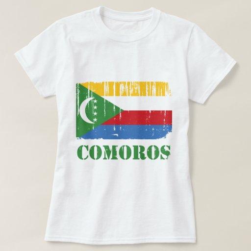 Bandera de los Comoro Playeras