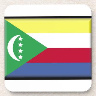 Bandera de los Comoro Posavasos