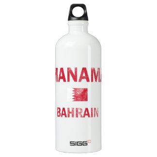 Bandera de los diseños de Manama Bahrein
