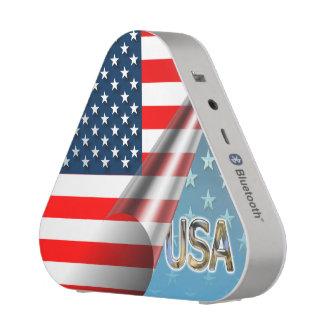 Bandera de los E.E.U.U. Altavoz Bluetooth