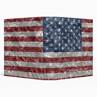 Bandera de los E.E.U.U. - arrugada