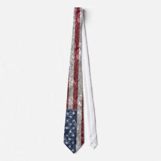 Bandera de los E.E.U.U. - arrugada Corbatas