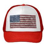 Bandera de los E.E.U.U. - arrugada Gorras