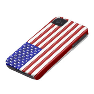 Bandera de los E.E.U.U. Case-Mate iPhone 4 Funda