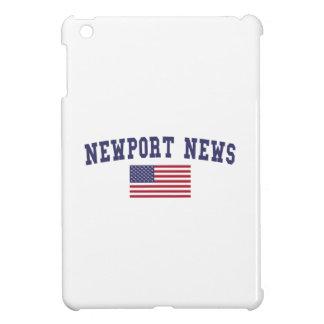 Bandera de los E.E.U.U. de las noticias de Newport