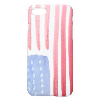 Bandera de los E.E.U.U. de los americanos Funda Para iPhone 7