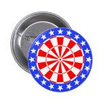 Bandera de los E.E.U.U. del Dartboard Pin