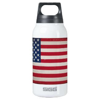 Bandera de los E.E.U.U. del vintage Botella Isotérmica De Agua