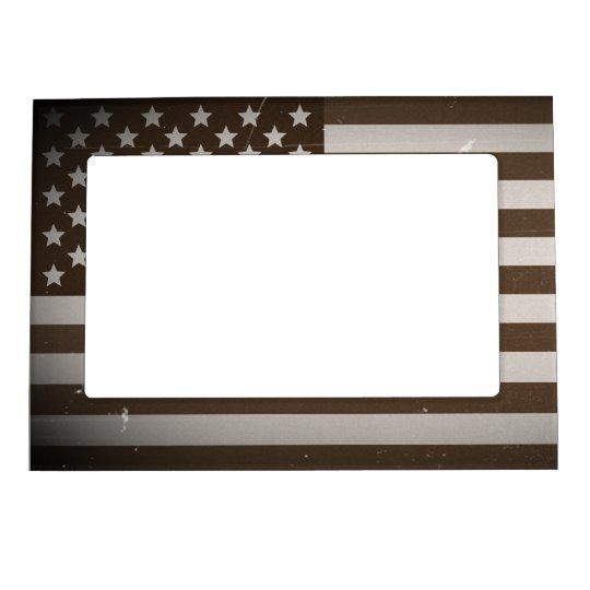 Bandera de los E.E.U.U. del vintage Marcos Magneticos Para Fotos