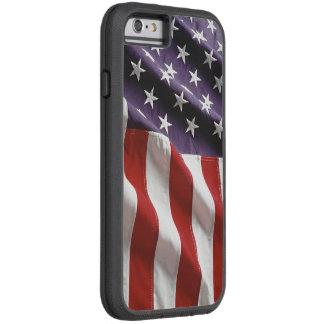 """Bandera de los E.E.U.U. del vintage """"que vuela Funda Tough Xtreme iPhone 6"""