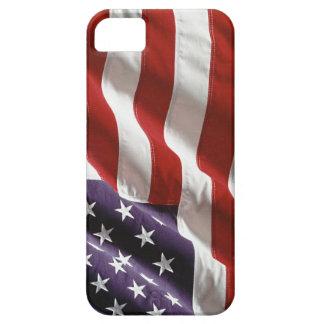"""Bandera de los E.E.U.U. del vintage """"que vuela iPhone 5 Fundas"""
