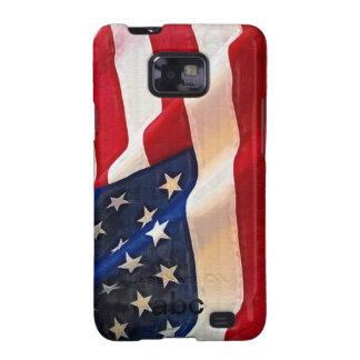 Bandera de los E.E.U.U. - el orgullo americano Sam Galaxy S2 Carcasa