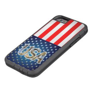 Bandera de los E.E.U.U. Funda De iPhone 6 Tough Xtreme