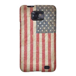 Bandera de los E.E.U.U. Samsung Galaxy S2 Carcasas