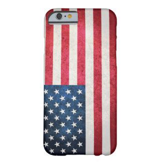 Bandera de los E.E.U.U. Funda De iPhone 6 Barely There