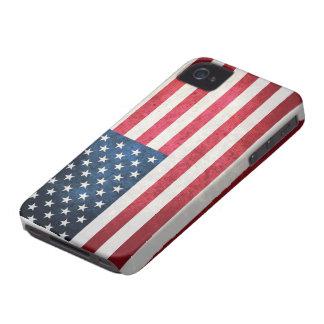 Bandera de los E.E.U.U. iPhone 4 Case-Mate Cobertura