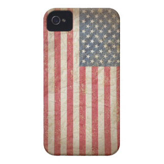 Bandera de los E.E.U.U. Case-Mate iPhone 4 Carcasas