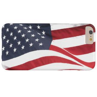 Bandera de los E.E.U.U. Funda Para iPhone 6 Plus Barely There