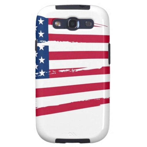Bandera de los E.E.U.U. Galaxy S3 Protector