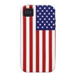 Bandera de los E.E.U.U. iPhone 4/4S Funda