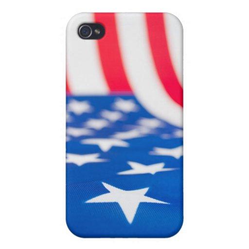Bandera de los E.E.U.U. iPhone 4 Coberturas